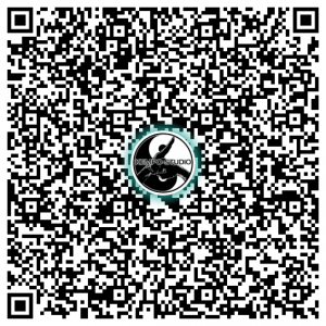 Visitenkarte KEMPO-STUDIO als QR-Code