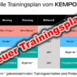 Neuer Trainingsplan!