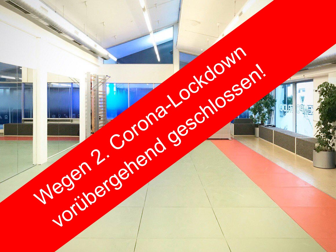 Wegen Corona-Lockdown vorübergehend geschlossen